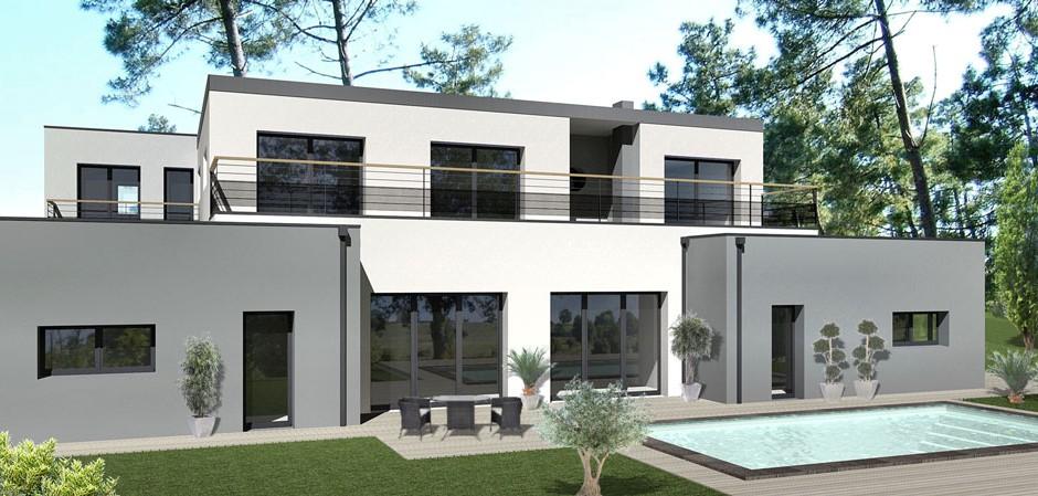 Plan De Maison Moderne Avec Piscine plan de maison avec piscine interieure. interesting maisonsxl with