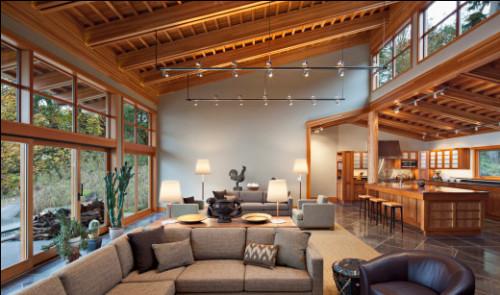 Le bois, incontournable de l'aménagement intérieur