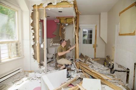 Travaux de rénovation: où stocker vos déchets de chantier?